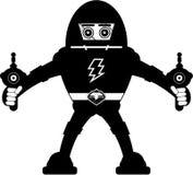 JätteMecha robot royaltyfri illustrationer