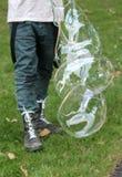 Jätten bubblar i luften Royaltyfria Bilder