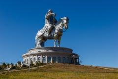 Jätten Genghis Khan arkivfoto