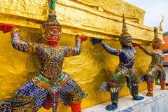 Jätten på Emerald Buddha Royaltyfria Bilder