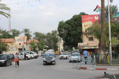 Jéricho central, Palestine Images libres de droits