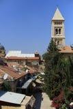 Jérusalem, église luthérienne du rédempteur Image stock