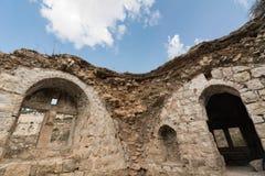 Jérusalem, architecture antique de bâtiment photos stock