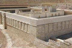 Jérusalem, deuxième temple Photo libre de droits