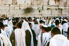 Jérusalem, Israël, célébration juive de Pesach Photographie stock libre de droits