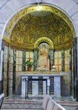 JÉRUSALEM, ISRAËL - 15 JUILLET 2015 : L'autel latéral dans Dormition C Photographie stock