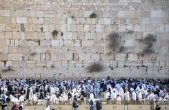Jérusalem. Samedi prie Photo stock