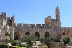 Jérusalem, tour de David Images libres de droits