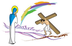Jésus illustration libre de droits