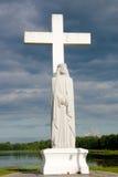 Jésus avant tempête image libre de droits
