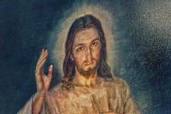 Jésus compatissant image libre de droits