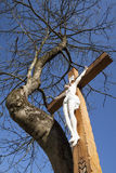 Jésus crucifié Image stock