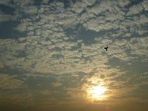 Jésus dans le ciel images libres de droits