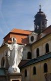 Jésus de basilique Velehrad Images libres de droits