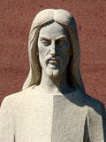 Jésus de marbre Image libre de droits