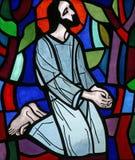 Jésus est éliminé de ses vêtements Images libres de droits