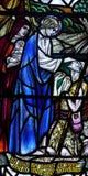 Jésus guérissant un homme malade Image libre de droits