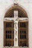 Jésus le roi de nazaréen des juifs Image libre de droits