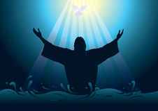 Jésus le sauveur illustration stock