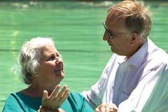 Baptême d'évangéliste Photos libres de droits