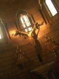 Jésus sur la croix Photo libre de droits
