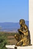 Jésus sur la prière Image stock
