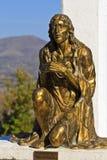 Jésus sur la prière Image libre de droits