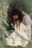 Jésus sur le Vendredi Saint photographie stock libre de droits