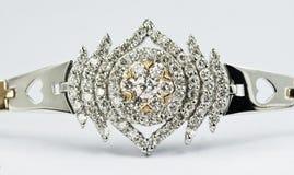 jóia do ouro 18k Imagens de Stock