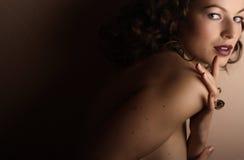 Jóia e beleza Imagem de Stock Royalty Free