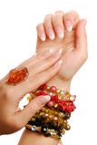 Jóia e gemas Foto de Stock Royalty Free