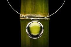 Jóia verde Fotos de Stock Royalty Free