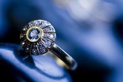 Jóias & anel Imagens de Stock