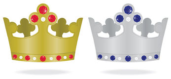 Jóias de coroa Imagem de Stock Royalty Free