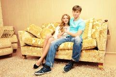 Jóvenes casados Fotografía de archivo