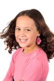 Jóvenes muchacha de diez años Fotografía de archivo