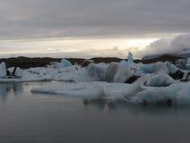 Jökulsárlón. The glacial river lagoon Jökulsárlón in the southeast of Iceland Stock Photos