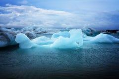 Jökulsárlón icebergs Royalty Free Stock Photography