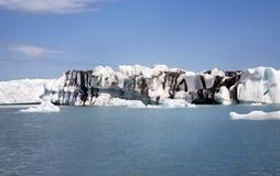 Jökulsárlón Island Stockbild