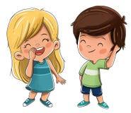 Júntese de amigos o de hermanos de los niños libre illustration