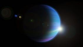 Júpiter azul Imagens de Stock Royalty Free