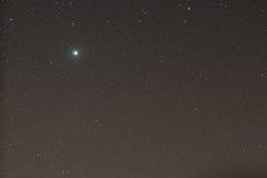 Júpiter em Gêmeos da constelação Imagem de Stock