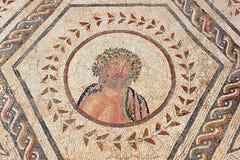 Júpiter, la casa del planetario, ciudad romana de Italica, Andalucía, España Imagenes de archivo