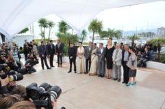 Júri de Cannes fotografia de stock royalty free