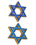 Jüdische Arten 3D des Sternes 2 Lizenzfreies Stockbild