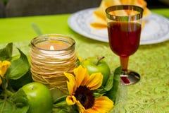 Jüdische Feiertage Rosh-ha-Shana am 25. September 2014 Lizenzfreie Stockbilder