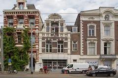 Jüdische Häuser auf dem Plantage Middenlaan 17-21 Lizenzfreies Stockbild