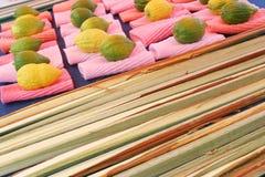 Jüdische Zitronebildschirmanzeige Stockbilder