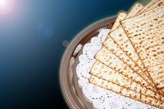 Jüdischer Feiertag des Frühlinges des Passahfests und seiner Attribute Lizenzfreie Stockfotografie