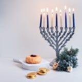 Jüdischer Feiertag Hanukkah Lizenzfreie Stockfotos
